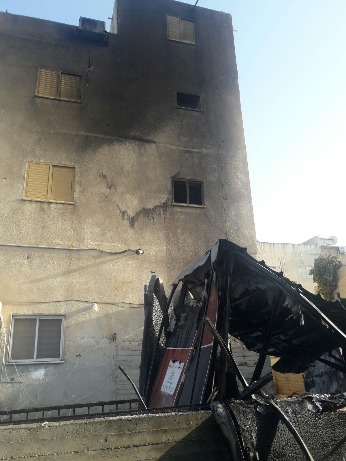 دبورية: اندلاع حريق في مخزن