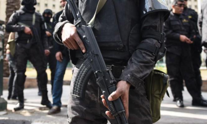 مصر: مقتل 16 عنصرا من الشرطة في تبادل إطلاق نار