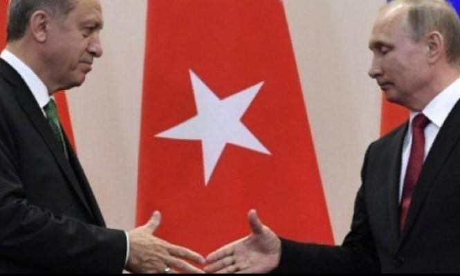 بوتين وإردوغان ناقشا الملف السوري في اتصال هاتفي