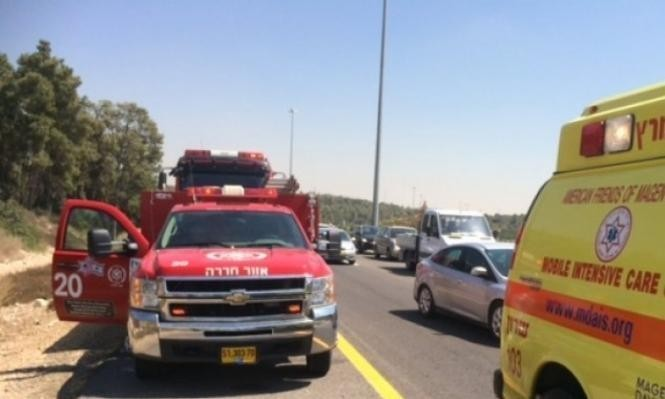 حيفا: إصابة حرجة لشاب عربي في حادث طرق