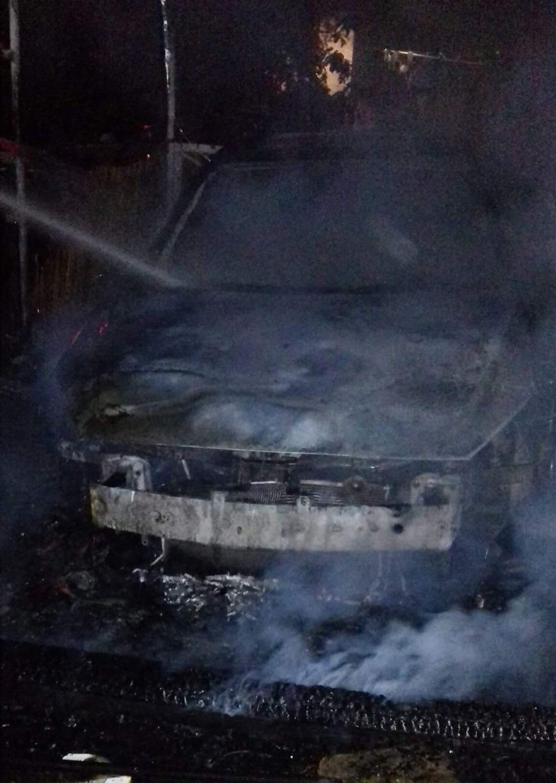 دوي انفجار سيارة مُعلمة يهز قلنسوة