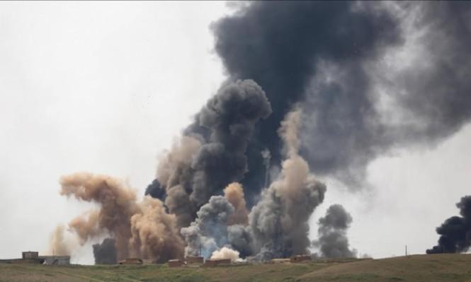 البشمركة تفجر جسرًا لمنع تقدم القوات العراقية