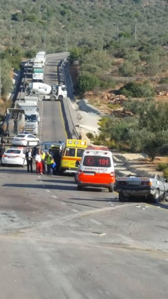 مصرع مواطن و6 إصابات في حادث طرق قرب دير استيا