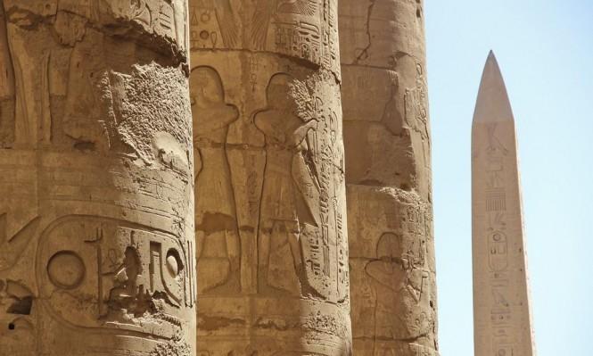 اكتشاف جدار مقبرة أثرية في الأقصر