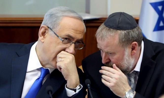 مندلبليت ونيتسان يعارضان قانون حظر التحقيق مع نتنياهو