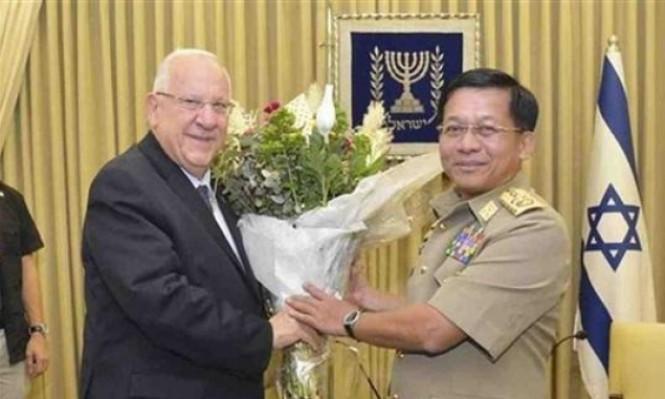 إسرائيل زودت بورما بالسلاح خلال المجازر ضد الروهينغا