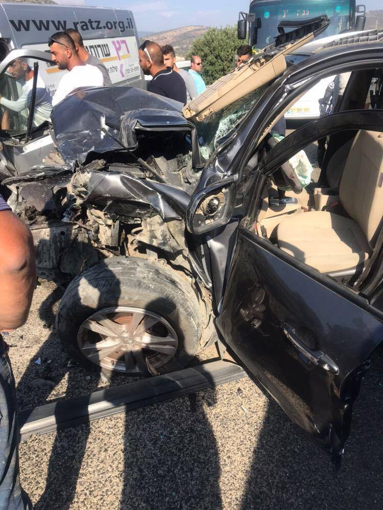 5 إصابات في حادث طرق قرب وادي سلامة