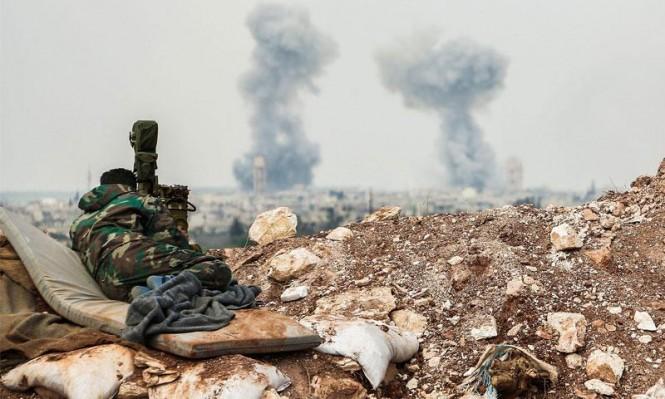 غارات روسية مكثفة في ريف حماة الشرقي