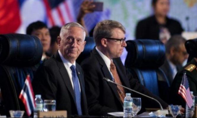"""ماتيس: أميركا تسعى إلى """"حل سلمي"""" مع كوريا الشمالية"""