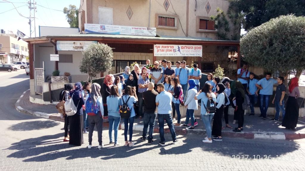 كفر قاسم: مسيرة طلابية نحو النصب التذكاري للمجزرة