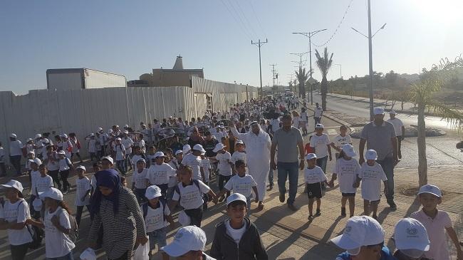 عرعرة النقب: مسيرة حاشدة مناهضة للعنف