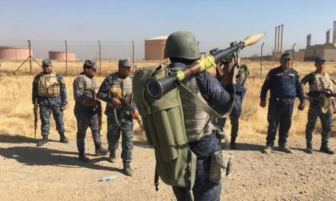 اتفاق لوقف الاشتباك بين القوات العراقية والبشمركة