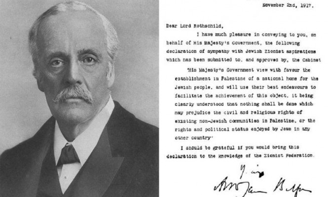 """""""وعد بلفور"""": تلبية لمصالح استعمارية ورغبة أقلية يهودية"""
