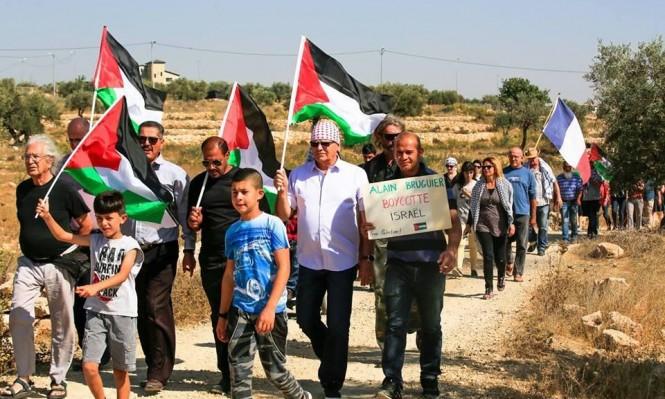 إصابة بغزة وقمع مسيرات بالضفة وإخطارات هدم بسلوان