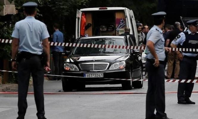 أثينا: اعتقال مشتبه بطرود ملغومة لمسؤولين أوروبيين