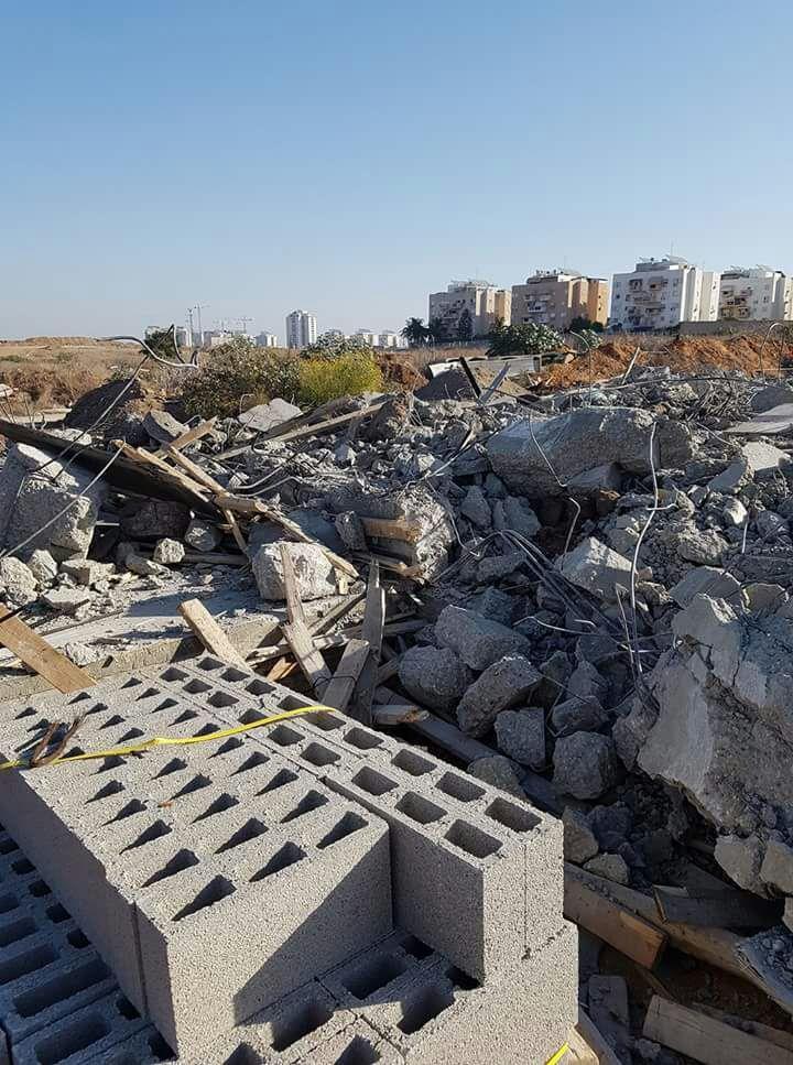 الرملة: هدم بيت قيد الإنشاء في حي الجواريش