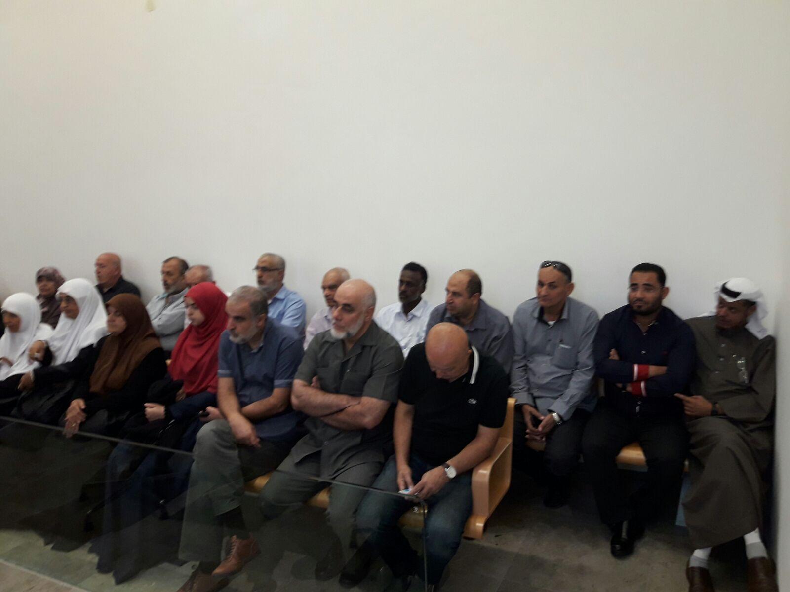 استئناف جلسات محاكمة الشيخ رائد صلاح