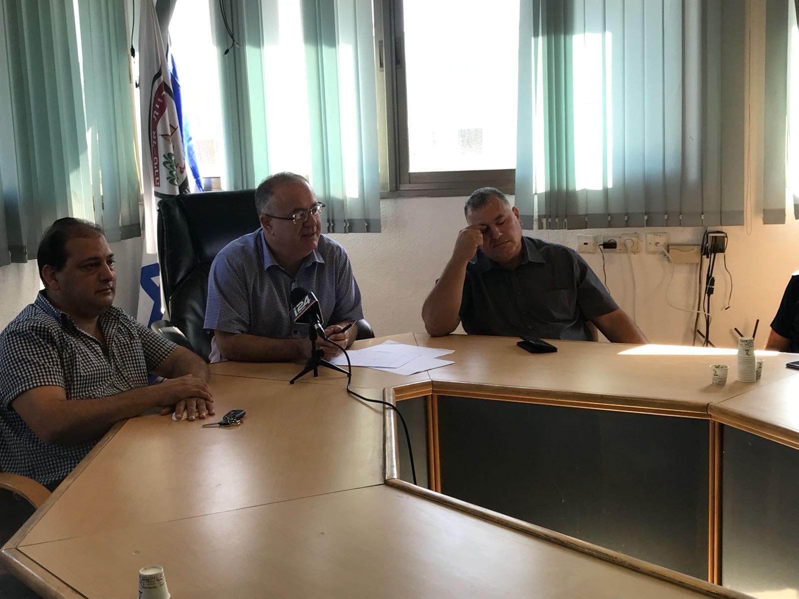 بلدية الطيرة تتهم الشرطة بالتقاعس في محاربة العنف والجريمة
