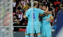 برشلونة يفوز على أتلتيك بيلباو بهدفين نظيفين