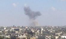 أنباء عن سقوط ضحايا بالقصف الإسرائيلي لنفق بغزة