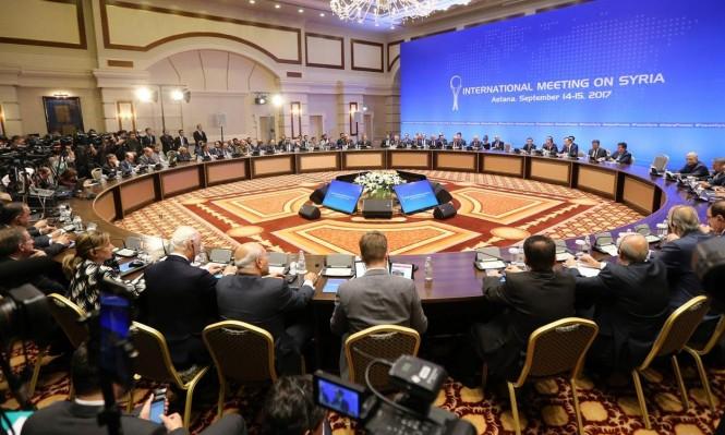 سورية: بدء الجولة السابعة من المفاوضات في أستانة