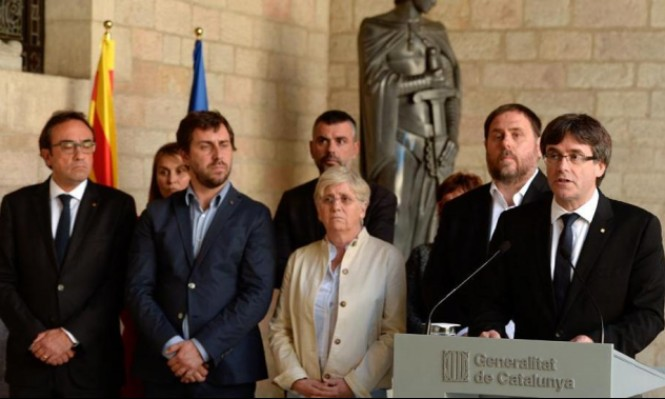 """المدعي العام الإسباني يطالب باتهام زعماء كاتالونيا بـ""""التمرد"""""""