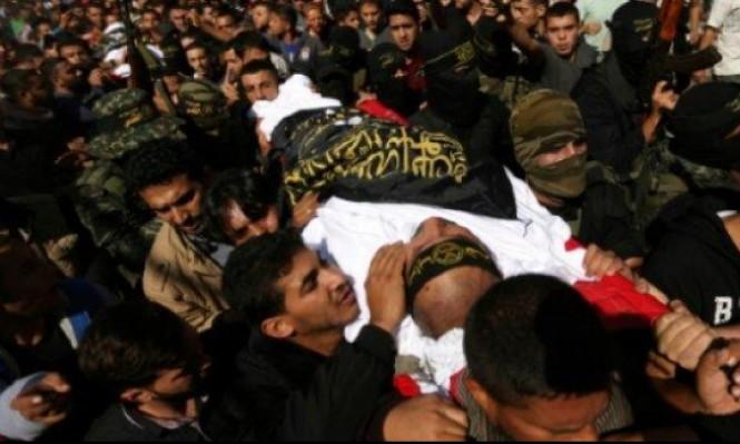 قطاع غزة: تشييع جثامين الشهداء واستمرار البحث عن مفقودين