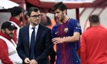تحديد مدة غياب سيرجي روبرتو عن برشلونة