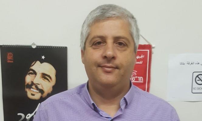 شريف زعبي يترشح لمنصب مرشح جبهة الناصرة لرئاسة البلدية