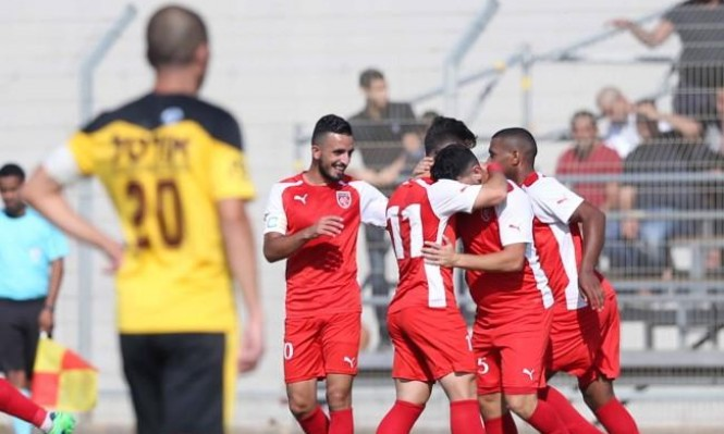 الوحدة كفر قاسم يفوز بأولى المباريات على ملعبه البيتي