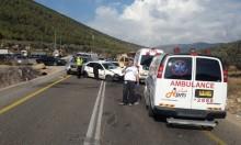 4 إصابات بحادثي طرق بالجليل والجولان