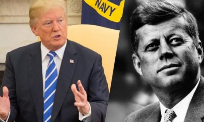 ترامب يتكتم على الوثائق المتعلقة باغتيال كينيدي