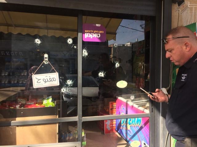 طمرة: إطلاق نار على محل تجاري