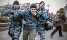الأمن الروسي يعتقل 380 متظاهرًا ضد بوتين