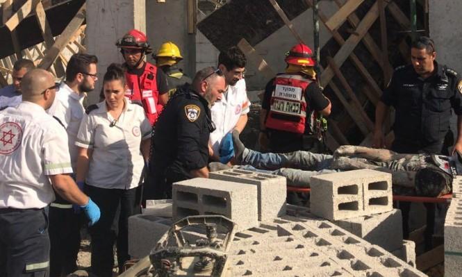 النقب: إصابات بانهيار جزء من مبنى مدرسة