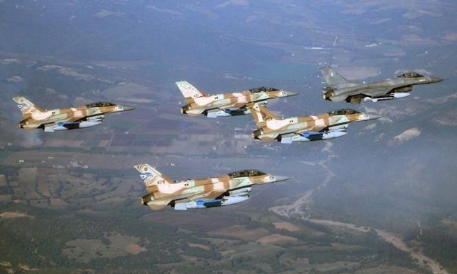 تحليق كثيف لطيران الاحتلال بسماء غزة