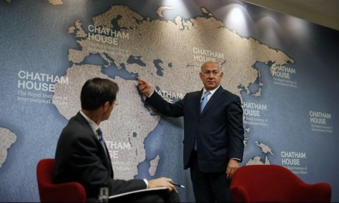 """نتنياهو: """"إيران تسعى لإرسال غواصتها للموانئ السورية"""""""