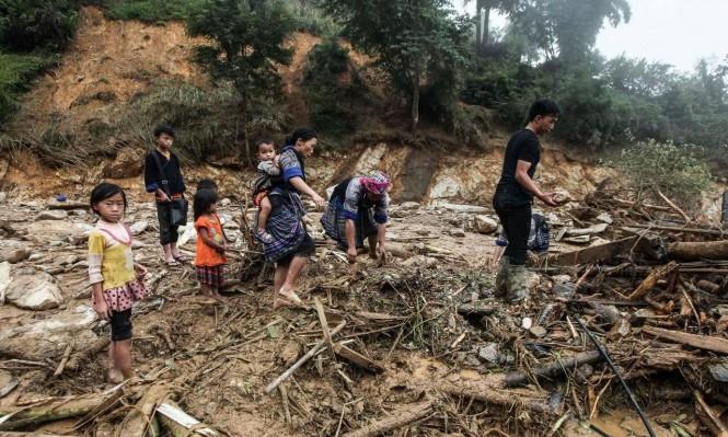 27 قتيلا جراء إعصار ضرب فيتنام