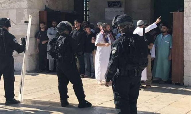 خطة أمنية للاحتلال للسيطرة على القدس القديمة والأقصى
