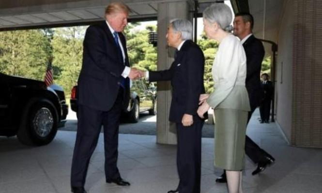 ترامب يزور اليابان ويبدي استعداده للقاء زعيم كوريا الشمالية