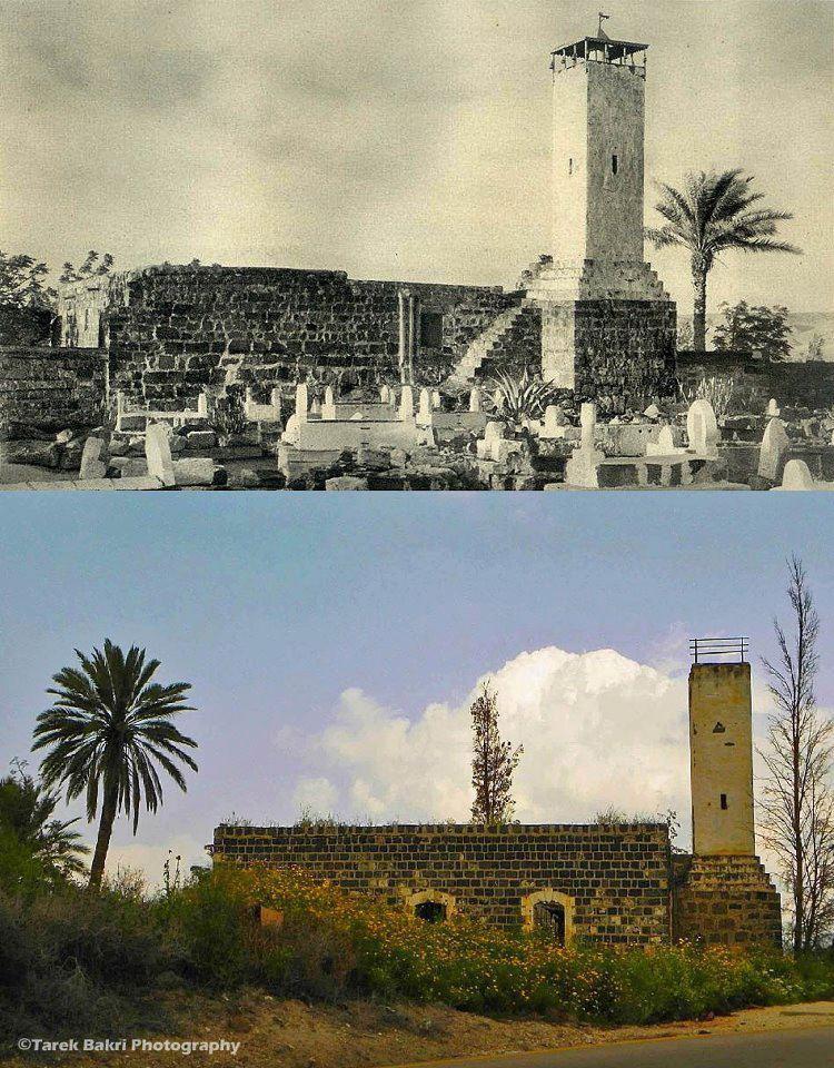 كتابات تذكارية في بيسان..