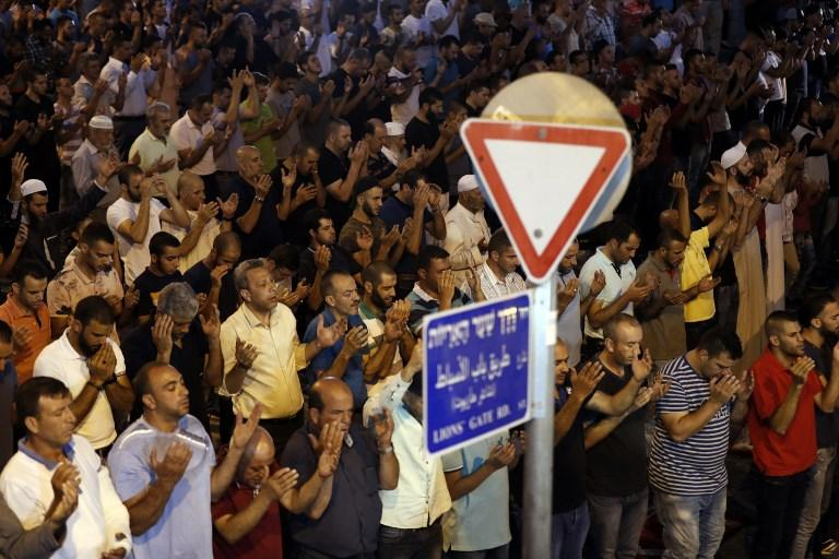 شرطة الاحتلال تنصب كاميرات مراقبة عند مداخل الأقصى