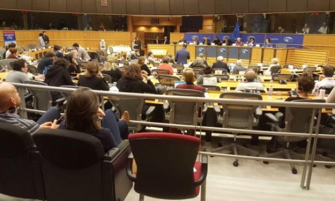 وفد المشتركة يطرح قضايا الجماهير العربية في مقر الاتحاد الأوروبي