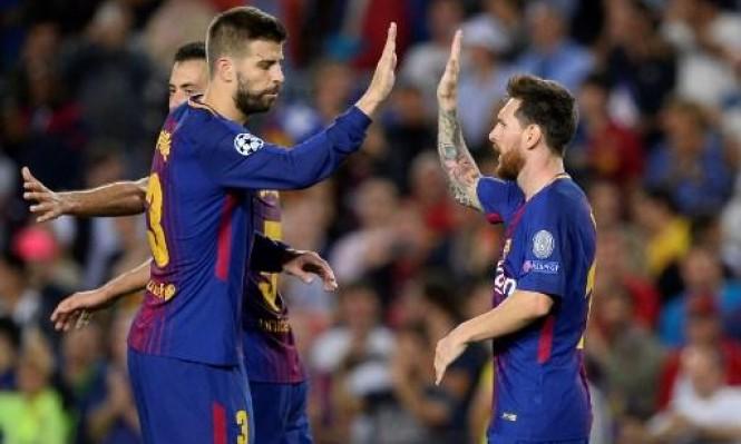 برشلونة يتحرك لتمديد عقده نجمه
