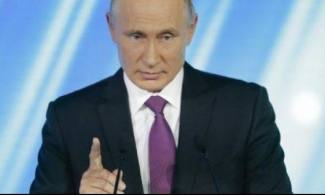 بوتين: أميركا تخطط لتشويش الانتخابات الرئاسية بروسيا