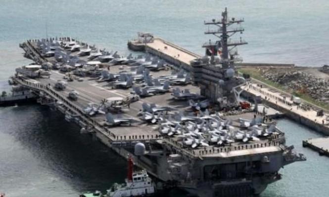 حاملات طائرات أميركية تجري مناورات بالمحيط الهادئ