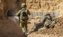 """إسرائيل تتدرب على """"حرب في الأنفاق"""""""