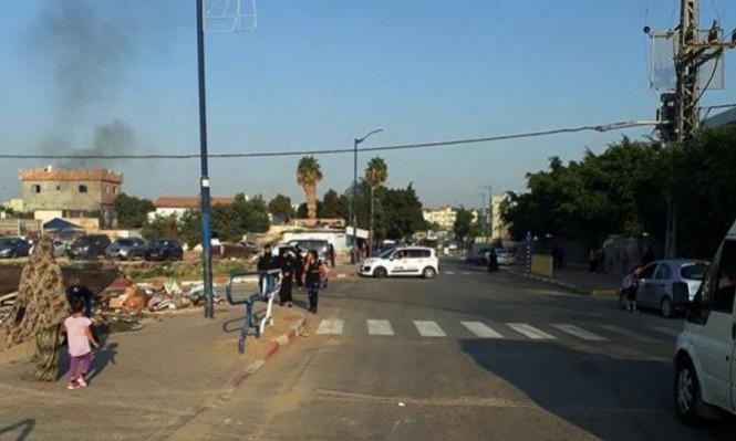 اللد: 4 إصابات إحداها خطيرة في حادث طرق
