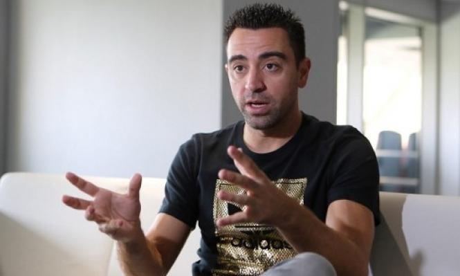 تشافي يعلن موعد اعتزاله كرة القدم