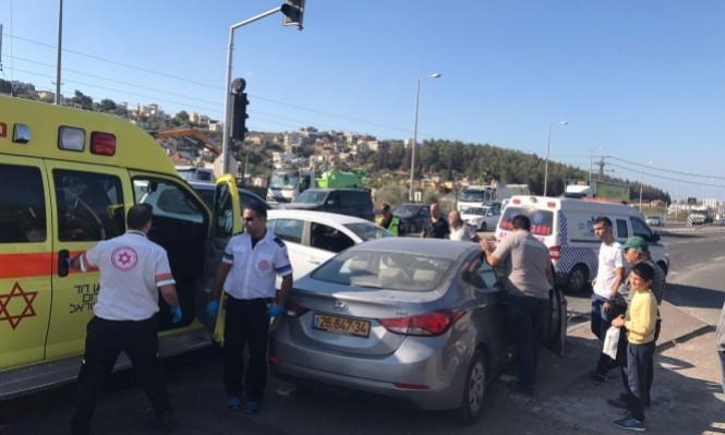 وادي عارة: 5 إصابات في حادث طرق